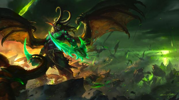 Illidan Stormrage by GothicQ