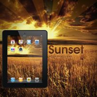 iPad Sunrise Wallpaper by Martz90