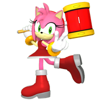 Amy Rose by TBWinger92