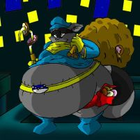 Fat Sly Cooper by Virus-20