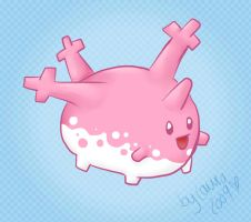 Corsola by lowlaury