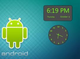 Android Clocks Pack by sanjeev18