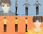 Dan and Phil MMD by VainPeach