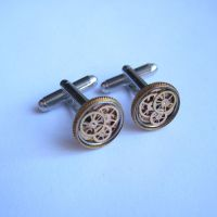 Cufflinks Model Thirty Eight by AMechanicalMind