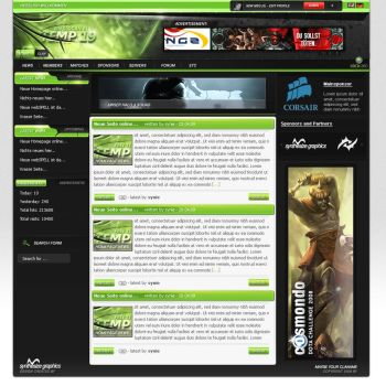 green gamingdesign - updated by syni-e