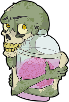 Zombie Love - without lettering by plooshkin