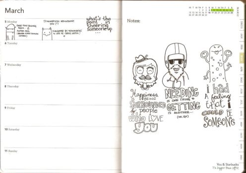 Planner Doodles 1 by batongbato