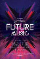 Future Music Flyer by styleWish