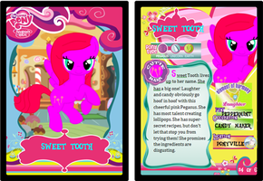 Sweet Tooth Card by BerryPunchrules