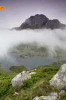 180610 Tryfan in low cloud 1 by InsaneGelfling