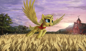 golden fields (commission) by Yakovlev-vad