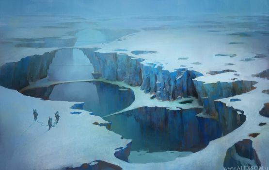 Ice planet 2 by alexson1