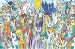 All My Little Pony Forever!! by FelixToonimeFanX360