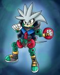 Silver the Gear Gigant Hedgehog by Airy-F