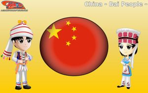 Chibi Bai People, China - Animondos - by Dougieus