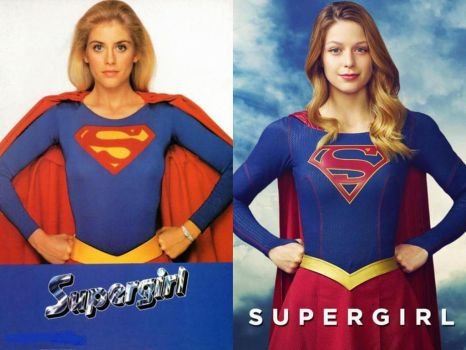 Supergirls Past and Present by Shulkie