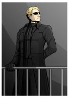 Albert Wesker by Fandias