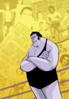 Andre the Giant : Closer to Heaven - poster by DenisM79