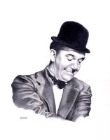 Stan Laurel by wendelin