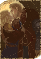 Estelle Trevelyan and Cullen by Espamistwalker