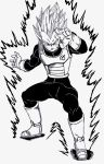 SSGSS Vegeta 'Bring it On Kakarotto' by lenbeezy