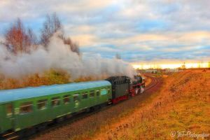 Steam locomotive 032155-4 on special trip Nr.1 by MT-Photografien