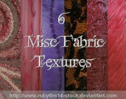 Misc Fabrics Texture Pack by Rubyfire14-Stock