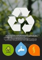 recycle,environment protect by wipetty