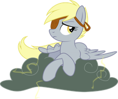 Derpy: Lord of the Storm by lightningtumble
