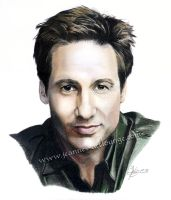 David Duchovny by Jeanne-Lui