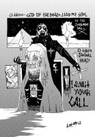 Mercyful Fate comic SATAN IS ALIVE by steamrobo