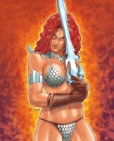 Red Sonja by Tozani