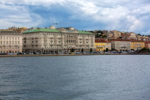 View from water by olgaFI
