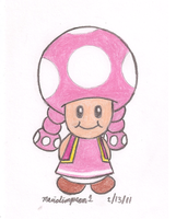 Toadette by MarioSimpson1