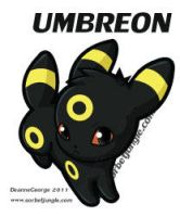 Umbreon by kyokia