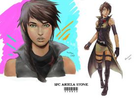Ariela Stone - Operation Zapatista by Sinn4u
