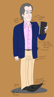 Older Modern Businessman by GoldenEraFan
