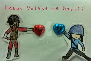 Happy late Valentine Day! by jeepfy