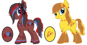 samithams Mystery ponys by JewelThePonyLover12