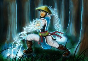 Raiden from Mortal Kombat by Suc-of