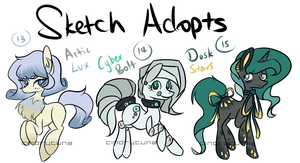 MLP - Sketch Adopts #5 [CLOSED] by CindryTuna