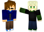 Broski and Patood Minecraft Skins by TVZRandomness