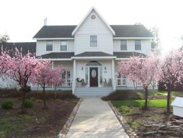 Epiphany house in spring by epiphany-stock