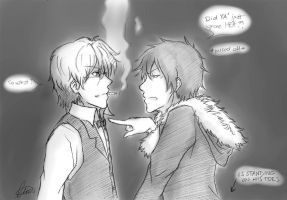 The shortest way to make Izaya pissed off by shirotenshi-chan