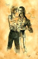 Nightrunner - Alec and Seregil by Chisako