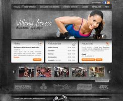 Fitness layout by B3rko