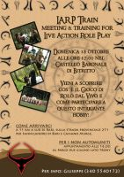 LARP Training Flyer by LadyEden