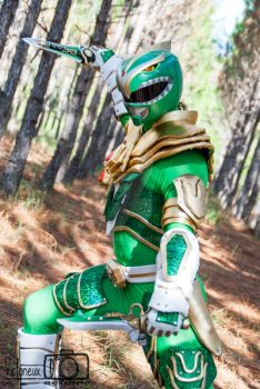 Custom Green Ranger Cosplay  by JayDRivera