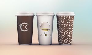 Coffee chick logo by meteoric-iron