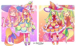 [CLOSED TY!] Sweet Wish Drop Collab Auction! by Skf-Adopt
